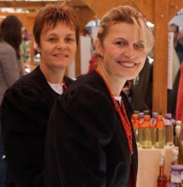 Carmen Juen und Sabine Fitsch